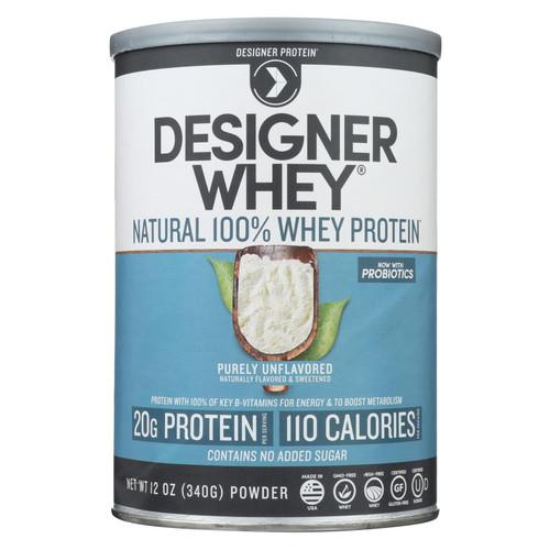 Designer Whey Natural Whey Protein - 12 oz on  Appalachian Organics
