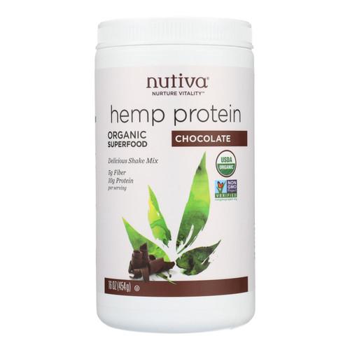 Nutiva Organic Hemp Shake Chocolate - 16 oz on  Appalachian Organics