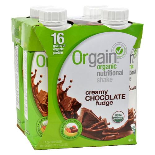 Orgain Organic Nutrition Shake - Chocolate Fudge - 11 fl oz - Case of 12 on  Appalachian Organics