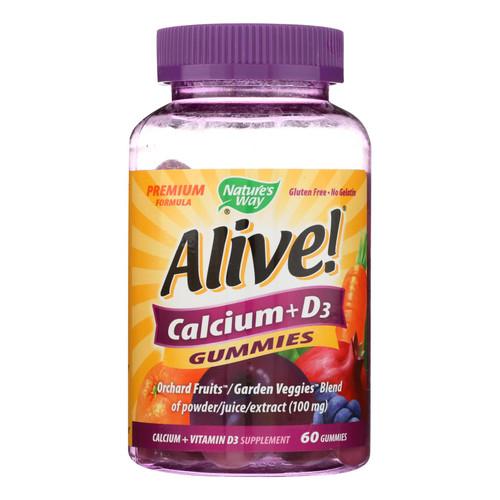 Nature's Way Alive - Calcium - Gummy - 60 Count
