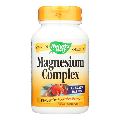 Nature's Way Magnesium Complex - 100 Capsules on  Appalachian Organics