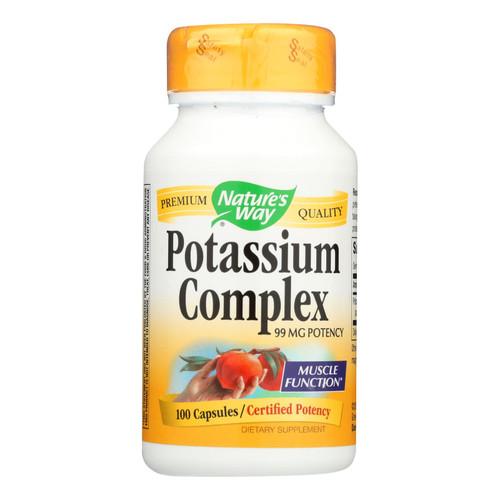 Nature's Way Potassium Chelate - 100 Capsules on  Appalachian Organics