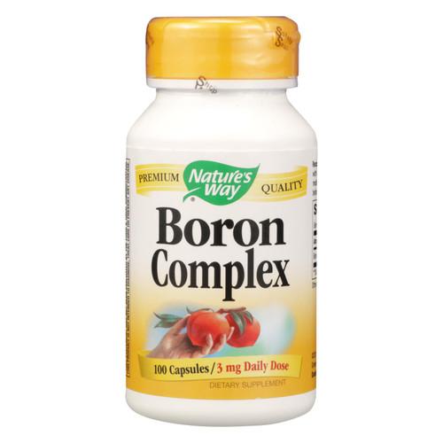 Nature's Way Boron Chelate - 100 Capsules on  Appalachian Organics