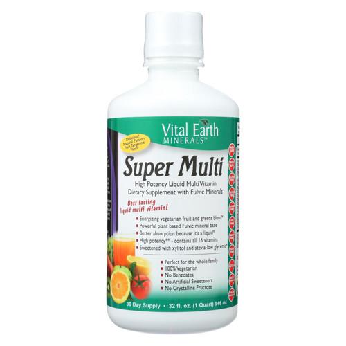 Vital Earth Minerals Super Multi Passion Fruit - 32 fl oz