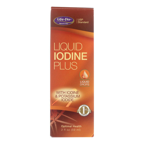 Life-Flo Health Care Liquid Iodine Plus - 2 fl oz
