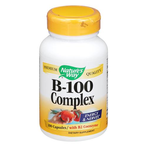 Nature's Way Vitamin B-100 Complex - 100 Capsules