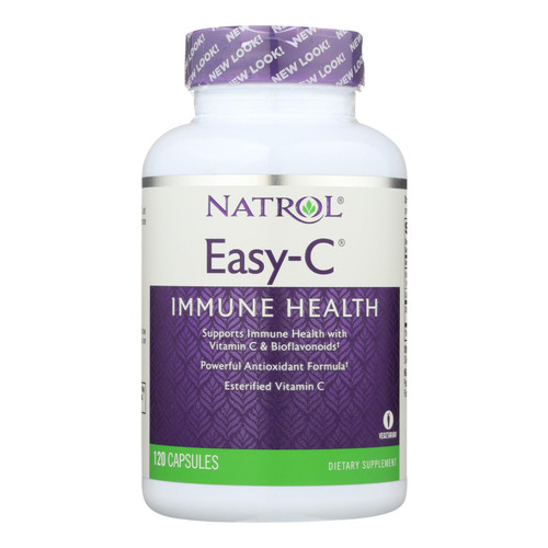 Natrol Easy-C - 500 mg - 120 Vegetarian Capsules