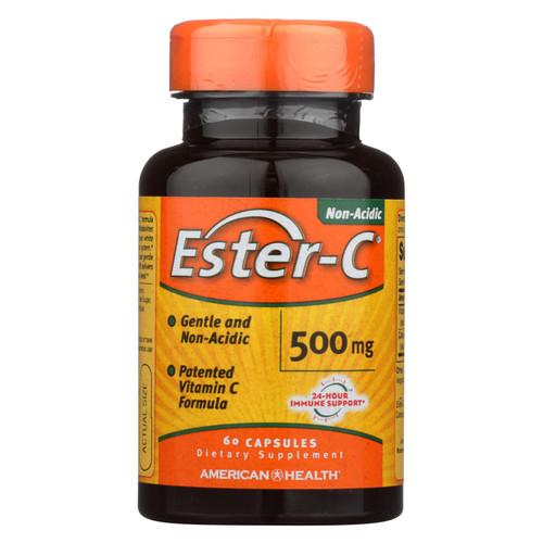 American Health Ester-C - 500 mg - 60 Capsules