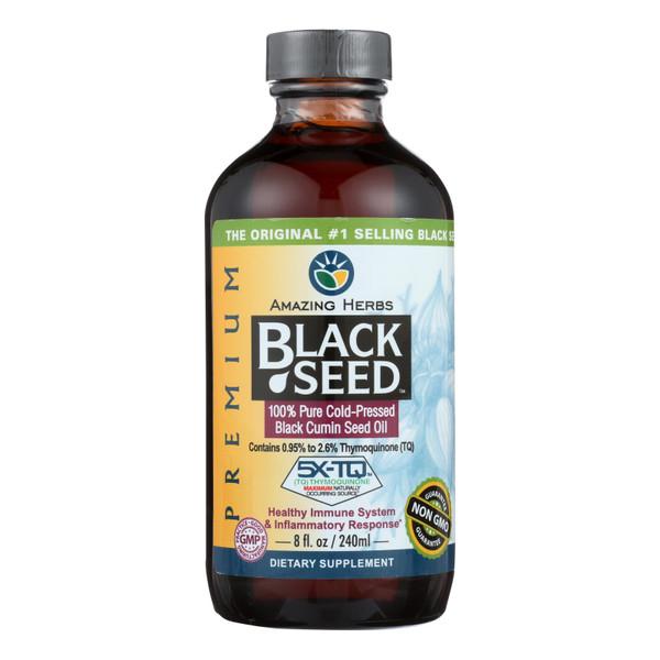 Amazing Herbs Black Seed Oil - 8 fl oz