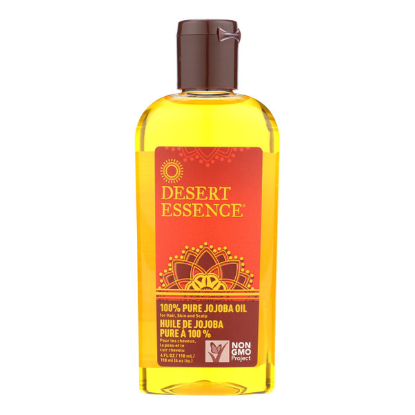 Desert Essence Pure Jojoba Oil - 4 fl oz