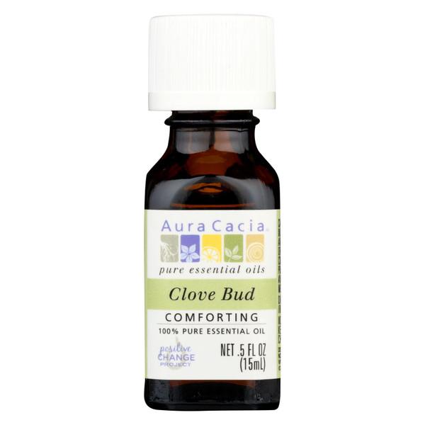 Aura Cacia Essential Oil - Clove Bud - .5 oz