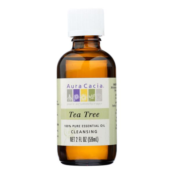 Aura Cacia 100% Pure Essential Oil Tea Tree Cleansing - 2 oz