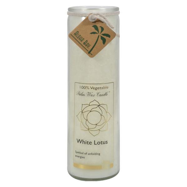 Aloha Bay Chakra Candle Jar White Lotus - 11 oz