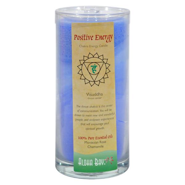 Aloha Bay Chakra Candle Jar Positive Energy - 11 oz