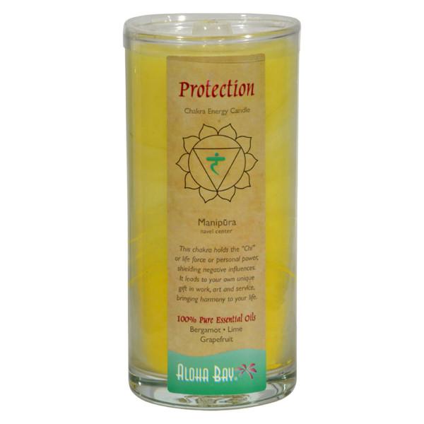 Aloha Bay Chakra Candle Jar Protection - 11 oz