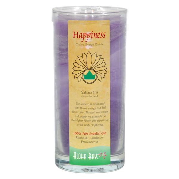 Aloha Bay Chakra Candle Jar Happiness - 11 oz
