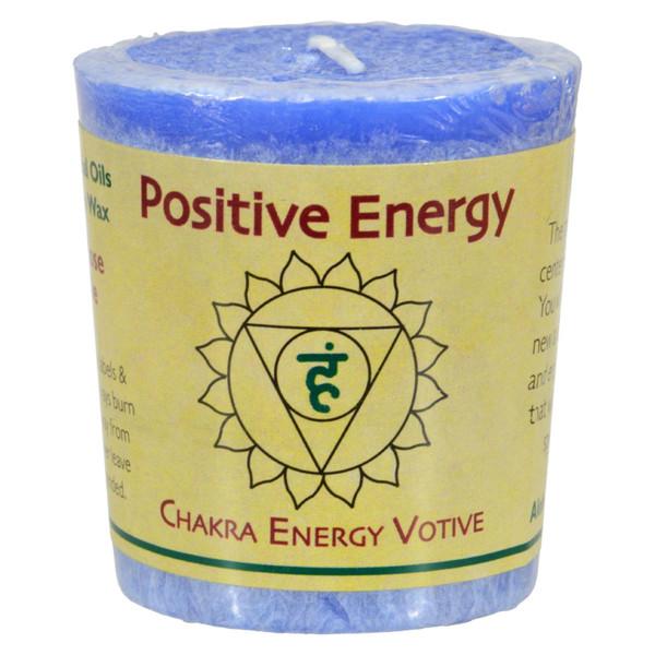 Aloha Bay Chakra Votive Candle - Positive Energy - Case of 12 - 2 oz
