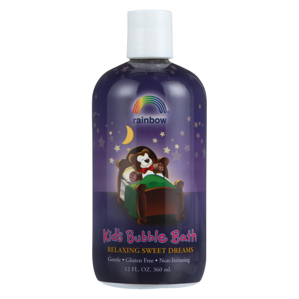 Rainbow Research Organic Herbal Bubble Bath For Kids Sweet Dreams - 12 fl oz