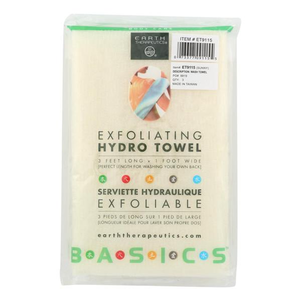 Earth Therapeutics Hydro Towel - Exfoliating - 1 Towel