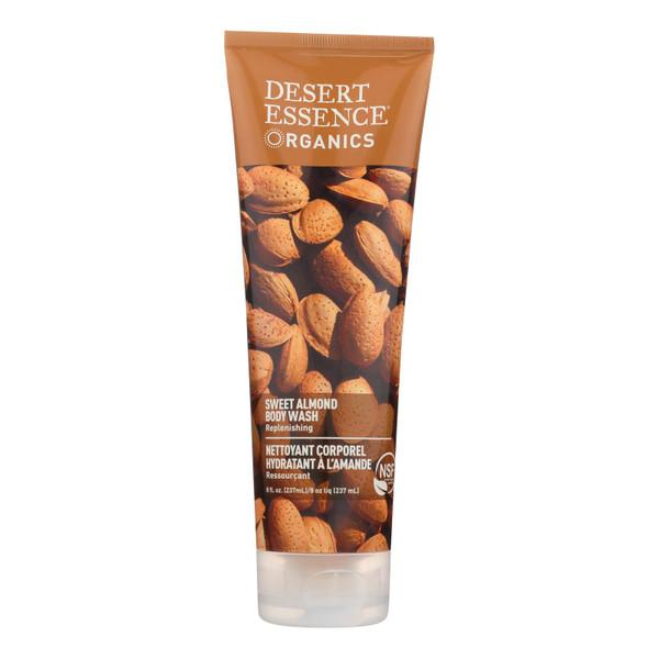 Desert Essence Body Wash Almond - 8 fl oz