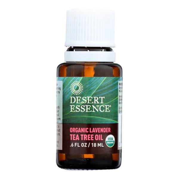 Desert Essence Oil Lavender and Tea Tree - 0.6 fl oz