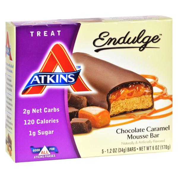 Atkins Endulge Bar Chocolate Caramel Mousse - 5 Bars on  Appalachian Organics