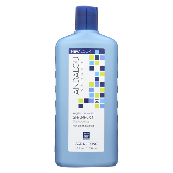 Andalou Naturals Age Defying Shampoo with Argan Stem Cells - 11.5 fl oz