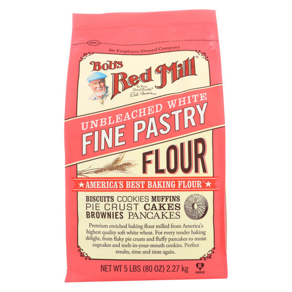 Bob's Red Mill FLOUR,PASTRY,UNBL WHITE