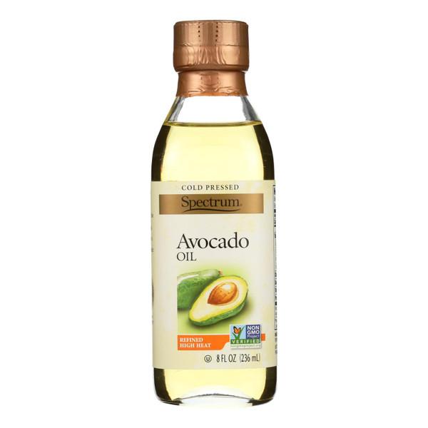Spectrum Naturals Avocado Oil - Expeller Pressed - Refined - 8 oz
