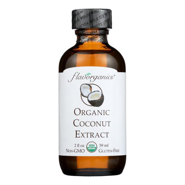Flavorganics Organic Coconut Extract - 2 oz