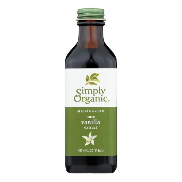 Simply Organic Vanilla Extract - Organic - 4 oz