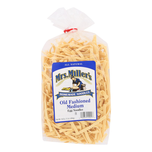 Mrs. Miller's Homemade Noodles - Old Fashioned Egg Noodles - Case of 6 - 16 oz. on  Appalachian Organics