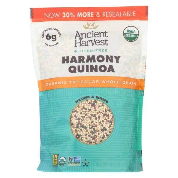 Ancient Harvest Organic Quinoa - Tri-Color Harmony Blend - 14.4 oz