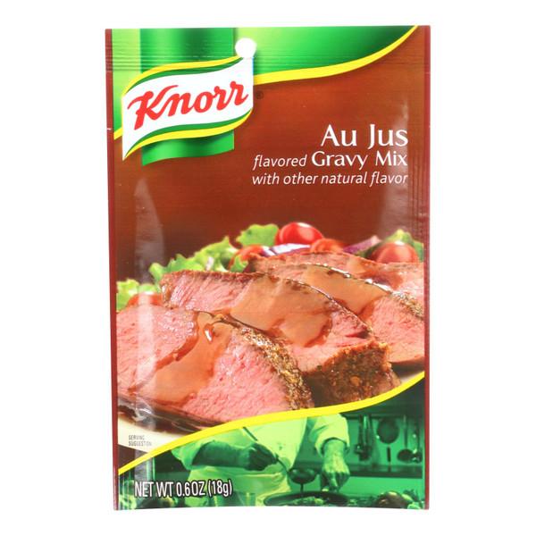 Knorr Gravy Mix - Au Jus - .6 oz - Case of 12