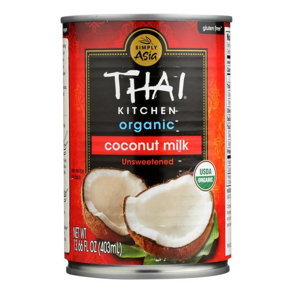 Thai Kitchen Organic Lite Coconut Milk - Case of 12 - 13.66 Fl oz.