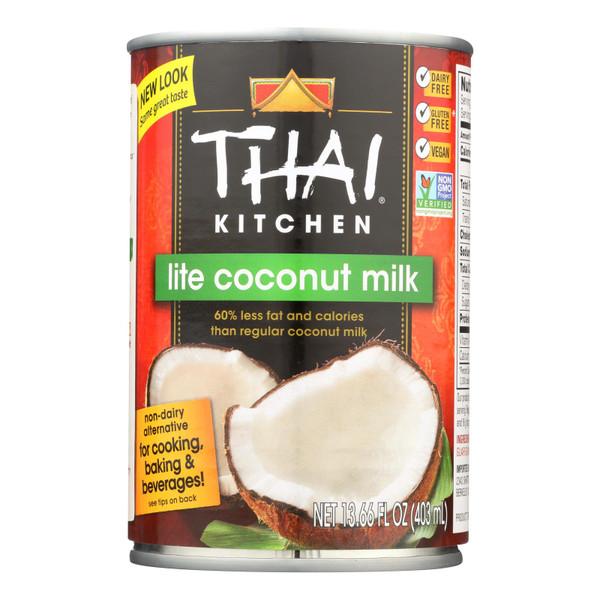 Thai Kitchen Lite Coconut Milk - Case of 12 - 13.66 Fl oz.