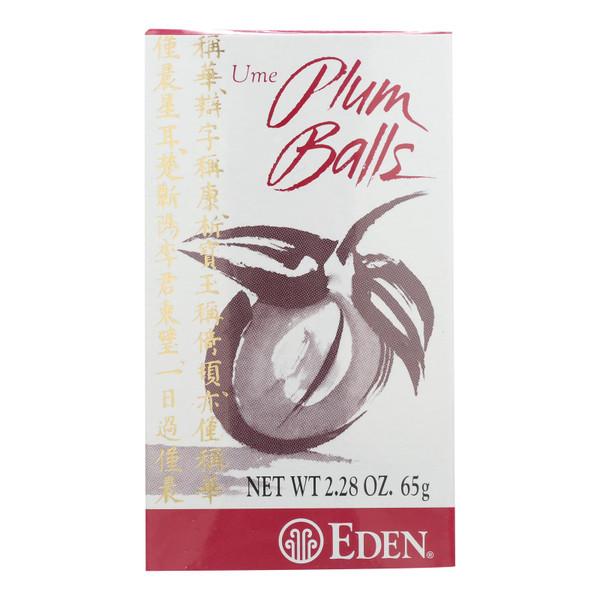 Eden Foods Plum Balls