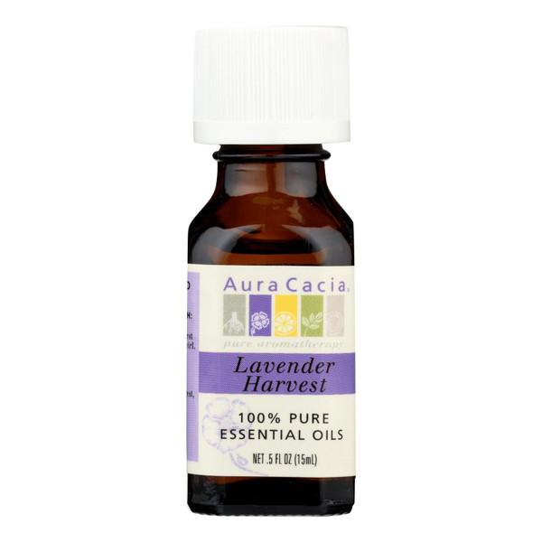 Aura Cacia - Pure Essential Oil Lavender Harvest - 0.5 fl oz