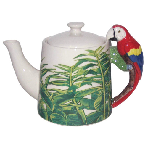 Macaw Handle Teapot