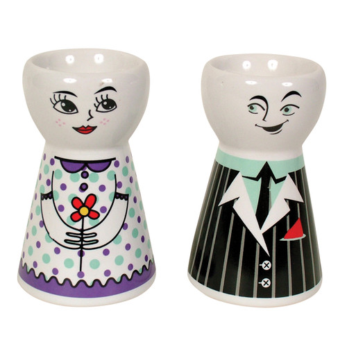Egg Cups Boy/Girl 2pc Purple/Purple