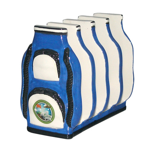 Golf Bag Toast Rack- Blue