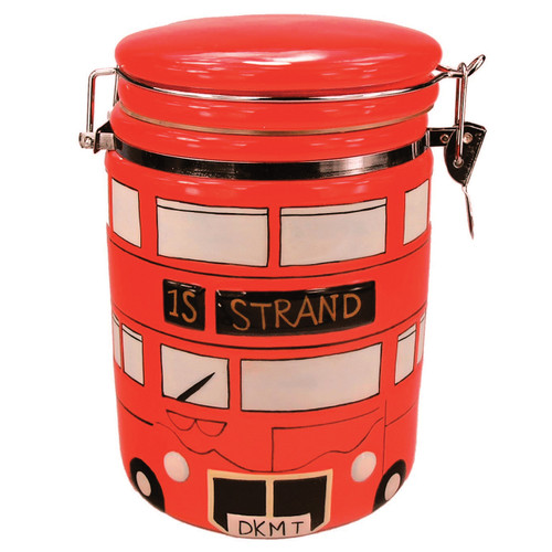 London Bus Storage Jar