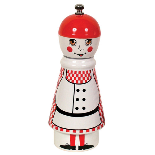 Small Pepper Mill - Girl Red