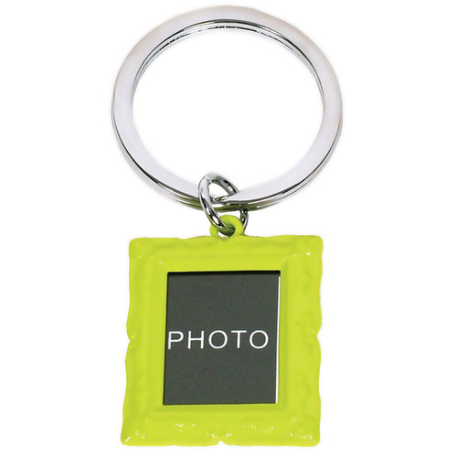 Green Photo Frame Keyring