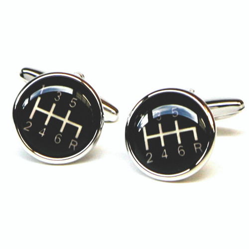 Gearshift Cufflinks