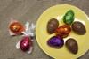 Foiled Easter Eggs-Set of 3