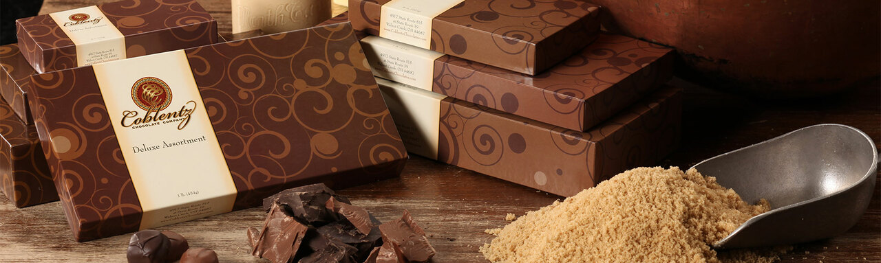 Hand-made chocolate Candy boxes