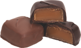 Old fashioned soft caramel enveloped in premium dark chocolate.