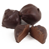 Premium and smooth chocolate meltaway center, infused with rich espresso and smothered in dark chocolate.
