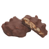 Roasted and salted cashew pieces with a dollop of soft caramel, all completely surrounded by premium milk chocolate.